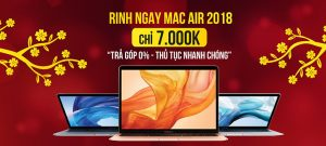 Mac Air 2018Giá tốt nhất
